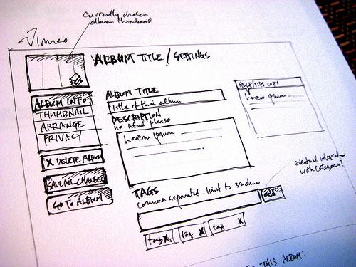 [图]一些网站交互的手绘稿
