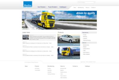 www.maxlineproducts.com(厚丰贸易网站设计)